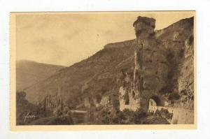 La Douce France, Gorges du Tarn, Pougnadoire (Lozère), France, 1900-1910s