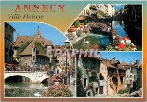 Modern Postcard Annecy Ville Fleurie