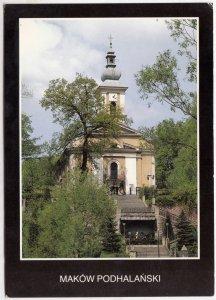 MAKOW PODHALANSKI, Poland, used Postcard