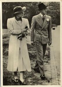 Dutch Princess Juliana and Prince Bernhard of Lippe-Biesterfeld (1950s)