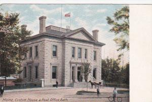 Custom House & Post Office, BATH, Maine, 1900-1910s
