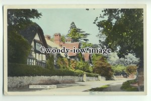 tp9218 - Worcs - Lovely Quaint Cropthorne Village in the 1950/60s - Postcard
