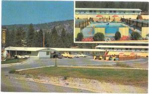 Sportsman's Motel in Merritt, British Columbia, BC, Canada, Chrome