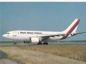 ROYAL NEPAL AIRLINES AIRBUS A310-304