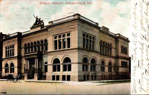 Public Library Indianapolis Indiana 1908