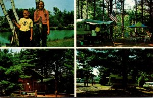 Maine Saco Cascadia Park Trailer Park Camping and Fishing