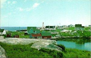 Nova Scotia Canada Peggy's Cove Halifax Postcard Unused (33314)