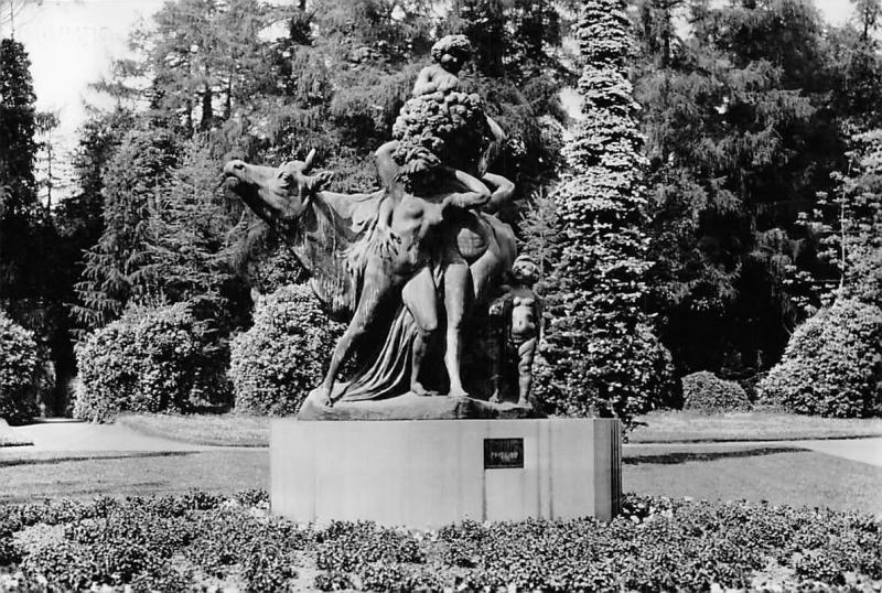 Belgium Parc de Mariemont, Jef Lambeaux L'Abondance Statue