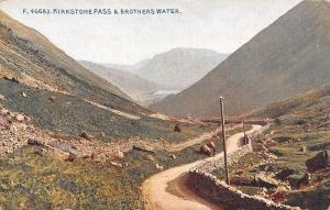 Kirkstone Pass & Brothers Water Road Panoramic view Lake Lac