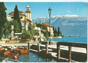 Italy, Gardone Riviera, Lago di Garda, 1981 used Postcard