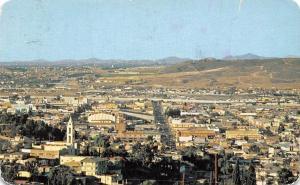 Mexico View of Tijuana and San Isidro Ysidro, Cal. 1957