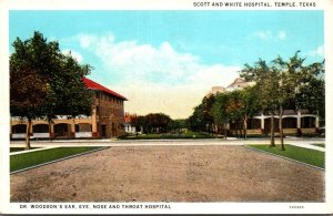 Texas Temple Scott and White Hospital Curteich
