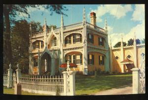 Kennebunk, Maine/ME Postcard, Wedding Cake House