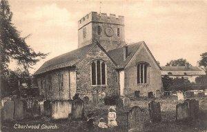 Charlwood Church Cemetery Eglise Postcard