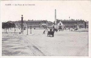 France Paris La Place de la Concorde