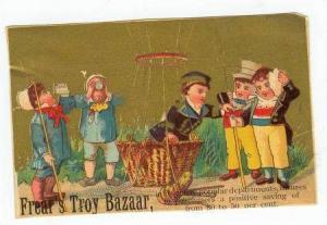 TC: Frear's Troy Bazaar, Silk Department, 1890s