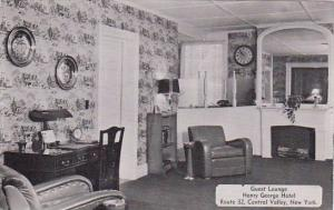 Guest Lounge Henry George Hotel Central Valley New York Dexter Press