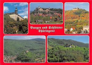 Schloss Heidecksburg in Rudolstadt, Burg Ranis in Ranis Greifenstein Castles