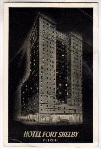 Hotel Fort Shelby, Detroit MI