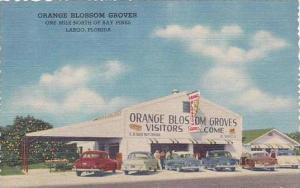 Florida Largo Orange Blossom Groves Citrus Stand