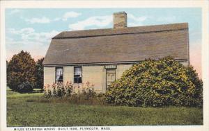 Massachusetts Plymouth Miles Standish House Built 1666