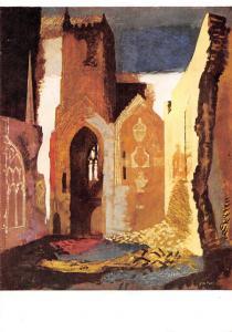 John Piper, St Mary le Port Bristol, Tate Gallery Postcard