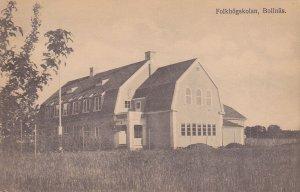 SWEDEN, 1900-1910's; Folkhogskolan, Bollnas