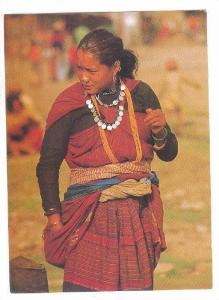 Magar Girl. NEPAL , 70-80s