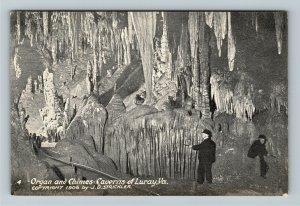 Luray VA-Virginia, Luray Caverns Stalacpipe Organ and Chimes, Vintage Postcard