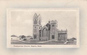 REGINA , Sask. , Canada , 1900-10s ; Presbyterian Church