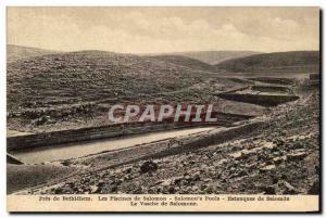 Palestine - Bethlehem - Bethlehem - Swimming pools of Solomon - Pools Old Pos...