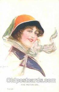 J.W. Hammick Postcard Post Card #531 Celesque Series unused