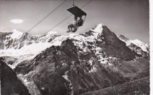 Switzerland Bergbahn Sesselbahn bei Grindelwald Photo