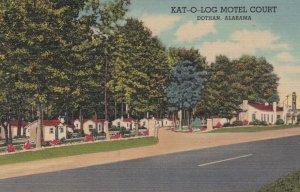 DOTHAN , Alabama, 30-40s ; KAT-O-LOG Motel Court