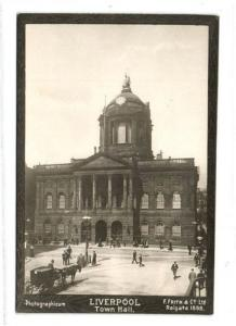 lancs, LIVERPOOL, Town Hall (1898) Photographicum