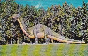 Dinosaurs at St. George´s Island, Calgary, Alberta, Canada, 40-60s