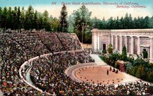 California Berkeley Hearst Greek Theatre University Of California