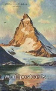 Matterhorn Swizerland, Schweiz, Svizzera, Suisse Riffelsee Matterhorn Riffelsee