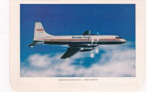 Canadian Pacific Prop BRITANNIA Airplane, 1950s