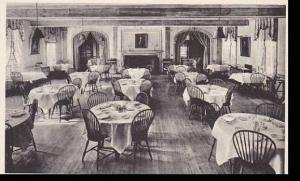 Massachusetts Amherst Main Dining Room and Alcoves The Loard Jeffery  Albertype
