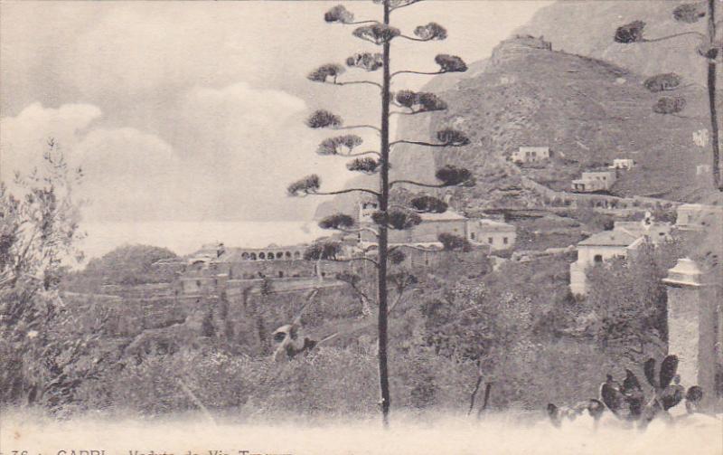 Veduta Da Via Tragara, CAPRI (Campania), Italy, 1900-1910s