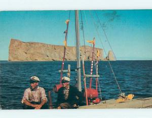 Pre-1980 TOWN VIEW SCENE Perce - Gaspe Peninsula Quebec QC p9939
