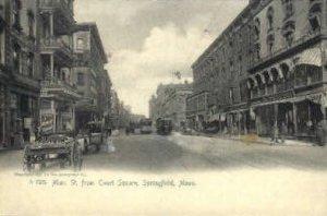 Main St. - Springfield, Massachusetts MA