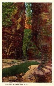 New York Watkins Glen The Vista Curteich
