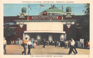Canadian National Exhibition, Toronto, Canada, Early Postcard, Unused