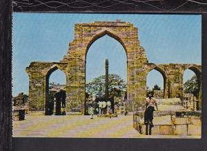 Iron Pillar,Qutab,Dehli,India Postcard BIN