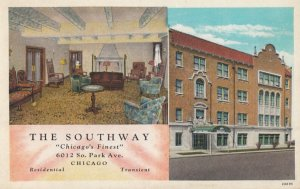 CHICAGO , Illinois , 1900-10s ; The South Way Hotel