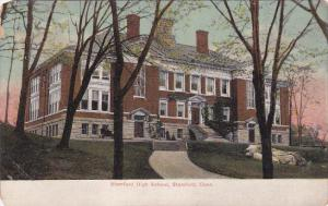 Front view,  Stamford High School,  Stamford,  Connecticut,  00-10s