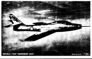 United States Air Force Republic F-84F Thunderjet