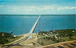 Pass Christian~ Bay St. Louis Mississippi~Bay Bridge~Toll Bridge~U.S. 90~1950's
